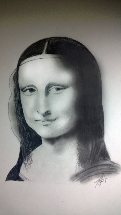 Mona Lisa por GIKAS